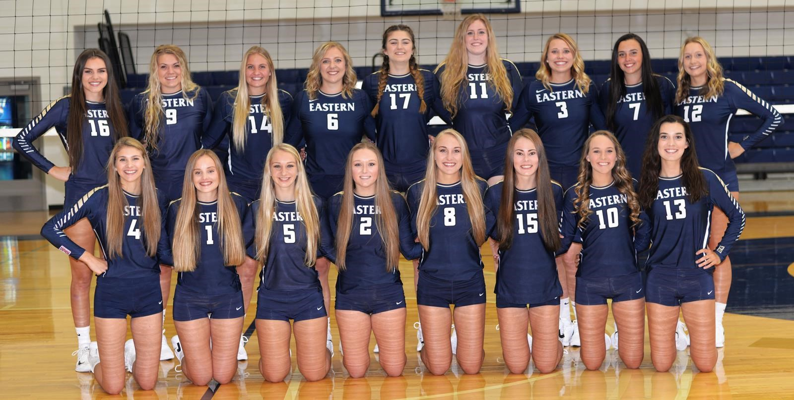 2018 Women S Volleyball Roster Eastern Oregon University Athletics