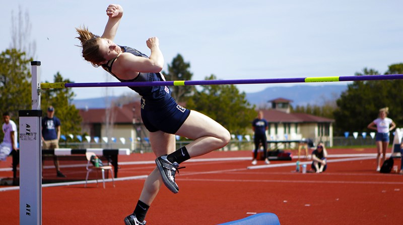 Dodd Leads Heptathlon After Day 1 of CCC Multi Events Championships - Eastern Oregon University Athletics