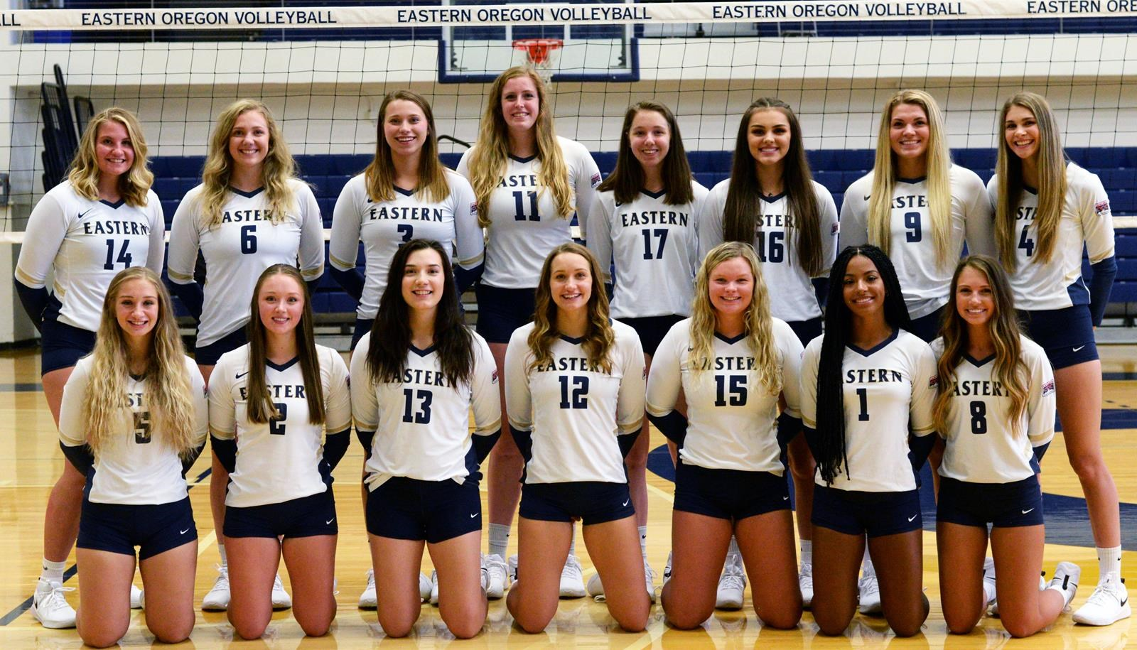 2019 Women S Volleyball Roster Eastern Oregon University Athletics