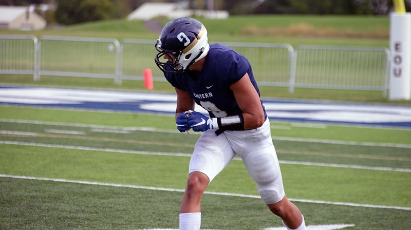 EOU Football Stymied by Portland State 59-9